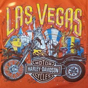 HARLEY DAVIDSON T-SHIRT LAS VEGAS